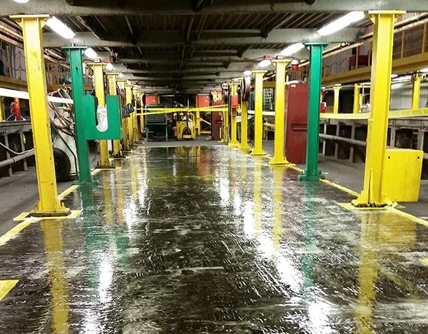 Oily Floor Solution | Floor Coating